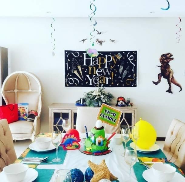 Aracely Arámbula celebró el cumpleaños de su hijo Miguel