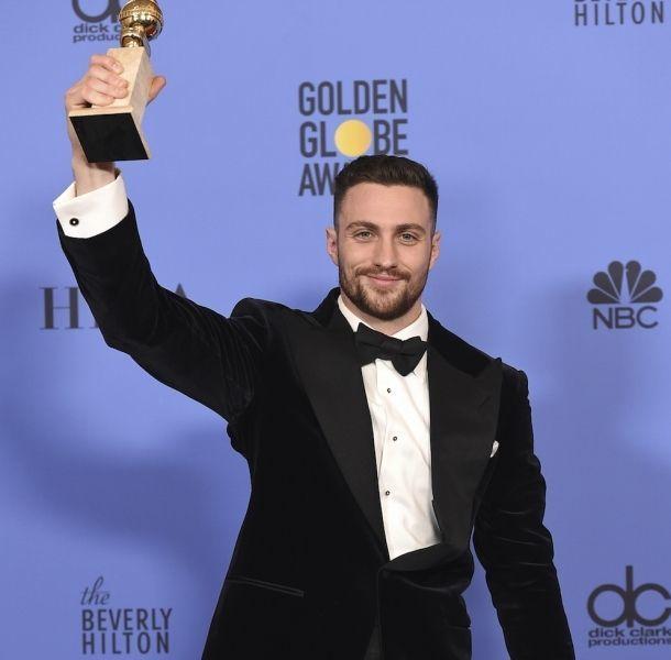Aaron Taylor-Johnson se llevó el primer Golden Globe de la noche