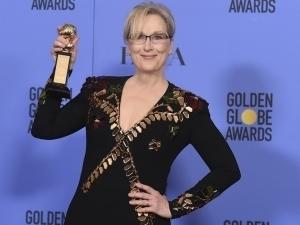 ¡Con todo! Meryl Streep sorprende con mensaje contra Trump en Golden Globes