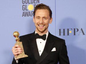 ¿Acierto o fracaso? Critican discurso de Tom Hiddleston en los Golden Globes