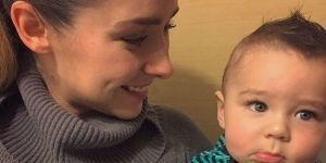 ¡Ariadne Díaz publica la foto más tierna de su hijo Diego!