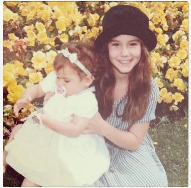 Así lucía de niña... la sensual Camila Sodi