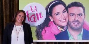 Angélica Vale protagoniza la telenovela 'La Fan'