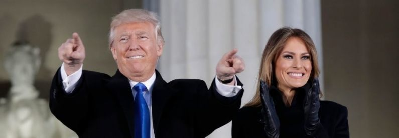 Se registran protestas contra Trump el día de su investidura