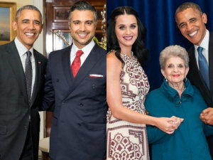 ¡Con cariño! Famosos despiden a Barack Obama en redes sociales