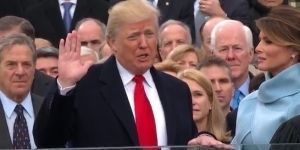 Trump jura como presidente de Estados Unidos