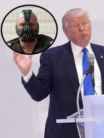 ¡OMG! Donald Trump copia frase de 'Bane' para su discurso presidencial (VIDEO)