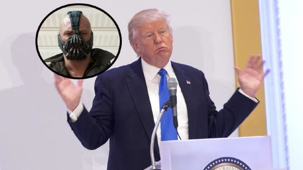 ¡OMG! Donald Trump copia frase de 'Bane' para su discurso presidencial (VIDEO)