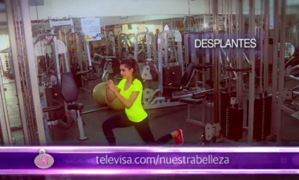 Video rutina Ejercicio 2: Pónte en forma con Kristal Silva