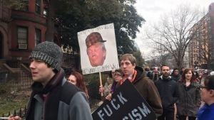 Imágenes de las protestas contra Donald Trump en EU
