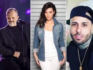 ¡Los flamantes estrenos de Miguel Bosé, Laura Pausini, Nicky Jam y más!