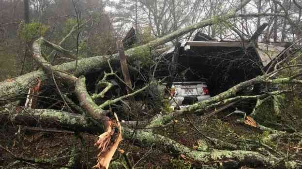 Severas tormentas dejan once muertos y 23 heridos en Georgia