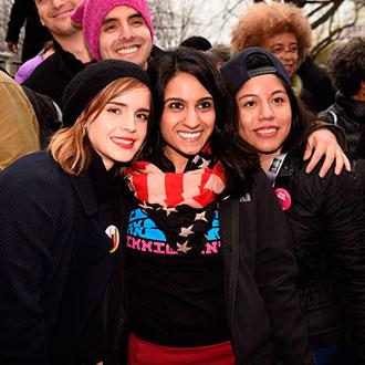 Estrellas que salieron a marchar por los derechos de las mujeres