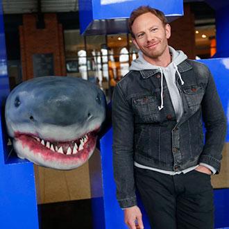 Ian Ziering, salvado por 'Sharknado'