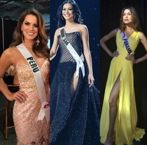 Ellas quieren ser Miss Universo 2016
