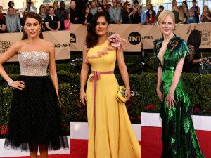 Los mejores y peores vestidos de SAG Awards