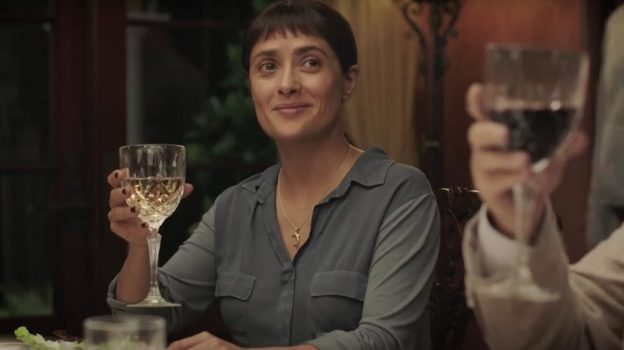 Salma Hayek triunfa en importante festival con la película 'Beatriz at Dinner'
