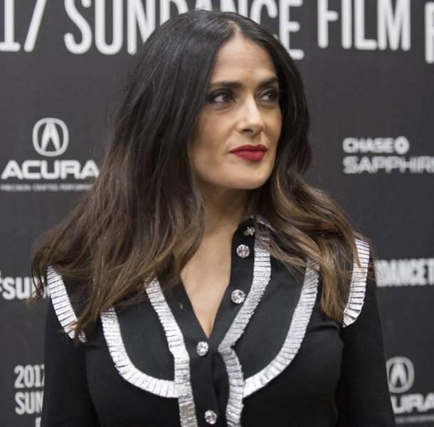 Salma Hayek presentó la película