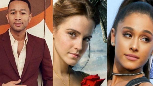 Ariana Grande y John Legend recrean soundtrack 'La Bella y ...