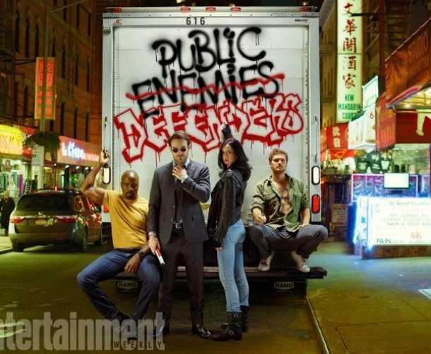 'The Defenders' reunirá a los superhéroes de Marvel y Netflix