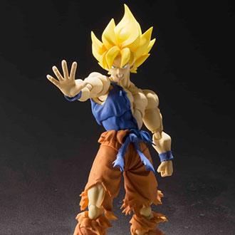 Goku estalla de poder en su nueva figura