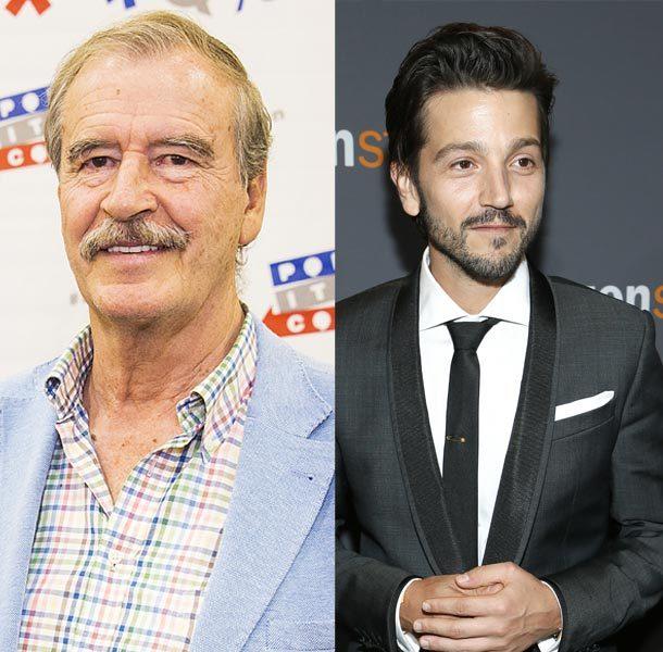 Diego Luna y Vicente Fox serán los invitados de Conan O