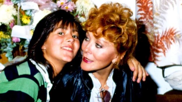 Alejandra Guzmán con Silvia Pinal
