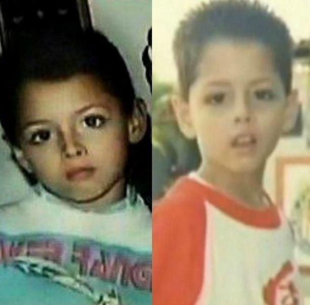 Así luce de niño Chicharito Hernández