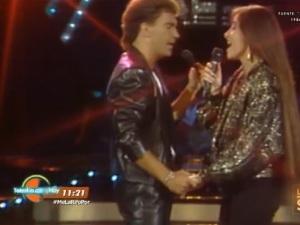 Retro: Daniela Romo y Mijares cantaban al amor en la XETU