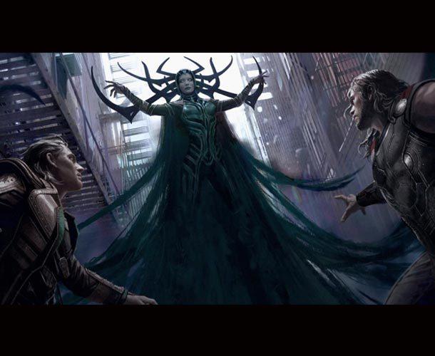 Revelan nuevos artes conceptuales de 'Thor: Ragnarok'