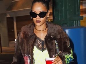 ¿Es Rihanna una completa alcohólica? (video + foto)