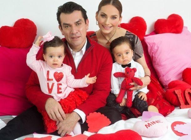 Elizabeth Álvarez publicó una tierna foto de sus mellizos