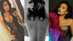 ¡Demi Lovato calienta redes sociales con tanto erotismo!
