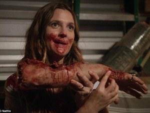 ¡Qué susto! Drew Barrymore casi muere al filmar nueva serie