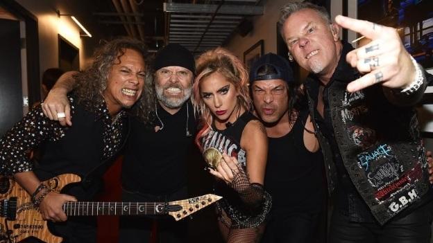 Así responde Grammy ante la desastrosa presentación de Metallica con Lady Gaga