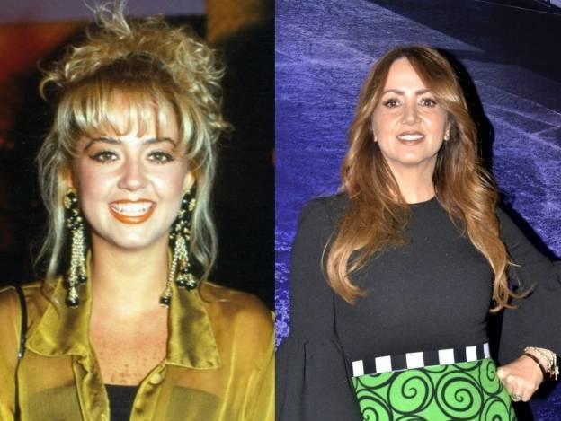 Antes y Después de... la guapa Andrea Legarreta