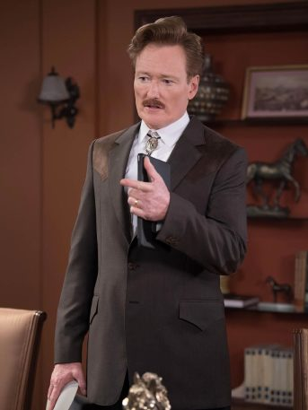¡Checa cómo se ve Conan O'Brien en 'Mi Adorable Maldición'!