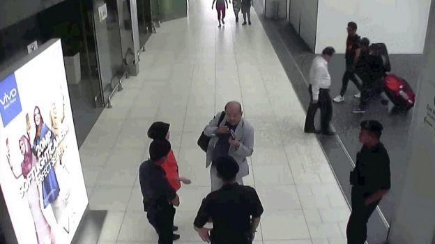 Difunden video con la secuencia del ataque a Kim Jong-nam