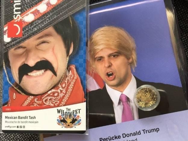 Se agotan pelucas de Trump para carnaval de Austria