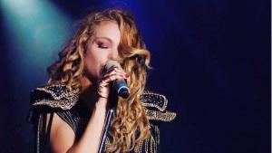 paulina rubio caida escenario concierto campeche video