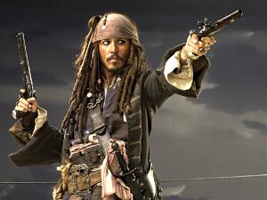 'Jack Sparrow' protagoniza los nuevos pósters de 'Piratas del Caribe 5'