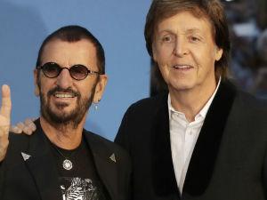 ¡La mitad de The Beatles se reúne para grabar nueva canción!