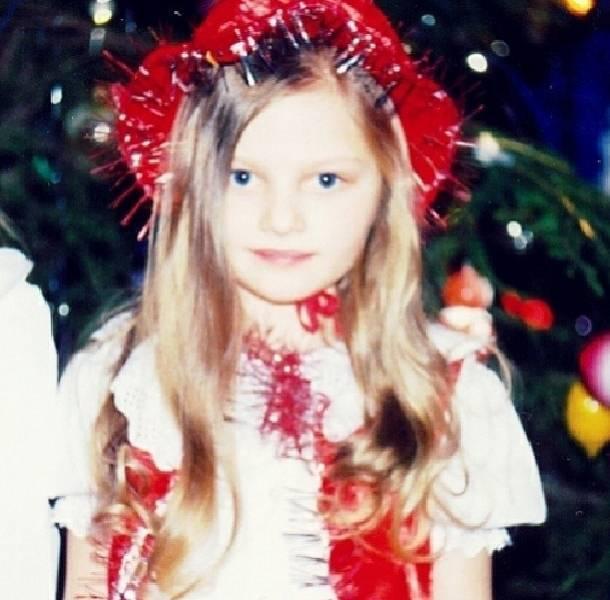Irina Baeva era una niña muy dedicada