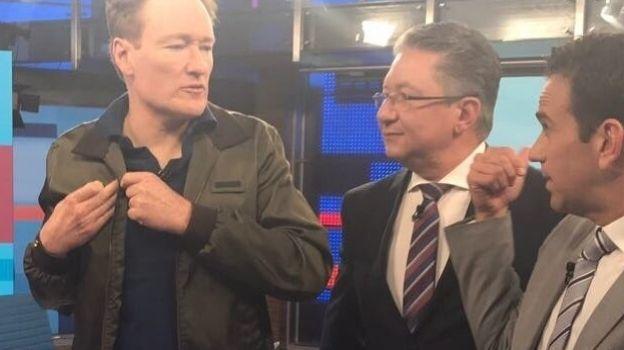 Me interesa conectar con la gente: Conan O'Brien