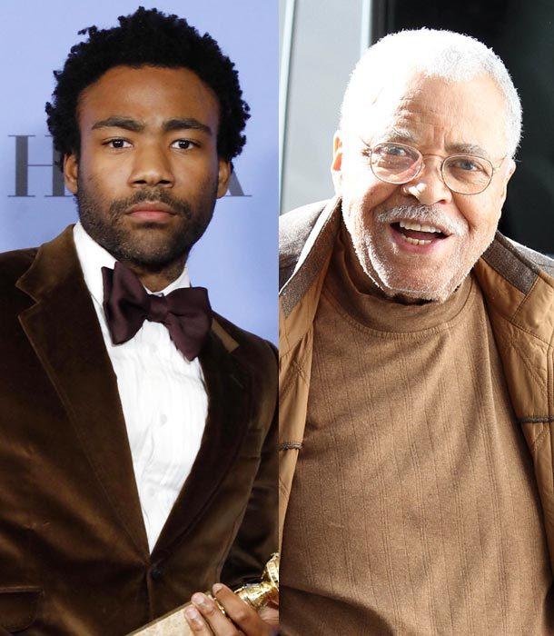 Donald Glover y James Earl Jones protagonizarán