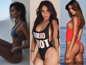 ¡Voluptuosas y ardientes! Famosas presumen sus cuerpos en Instagram