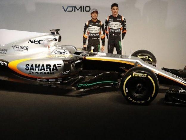 'Checo' Pérez presenta su nuevo auto