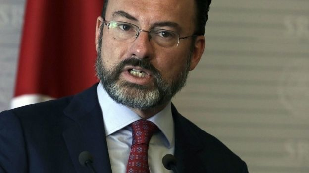 México no aceptará nuevas disposiciones migratorias de EU, advierte Videgaray