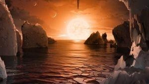 Hallan 7 exoplanetas del tamaño de la Tierra
