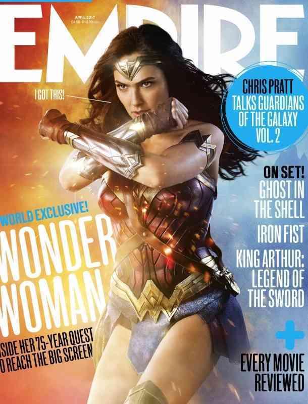 Revelan nuevas imágenes de la película 'Mujer Maravilla'